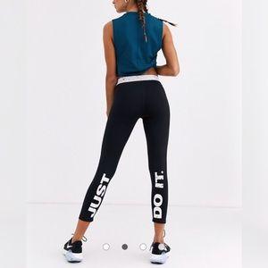 Nike Pro Training leggings with marble print